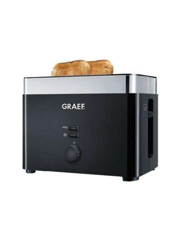 Image of   Graef Brødrister TO 62 - toaster - black