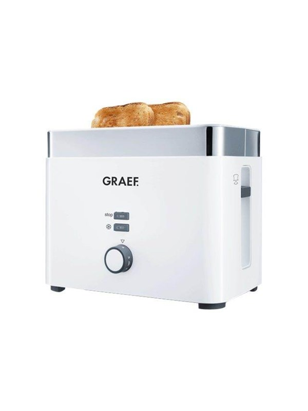 Image of   Graef Brødrister TO 61 - toaster - noble white