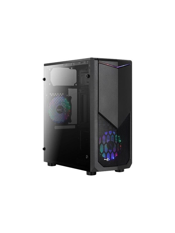 Image of   AeroCool Tomahawk-A - mid tower - ATX - Kabinet - Miditower - Sort