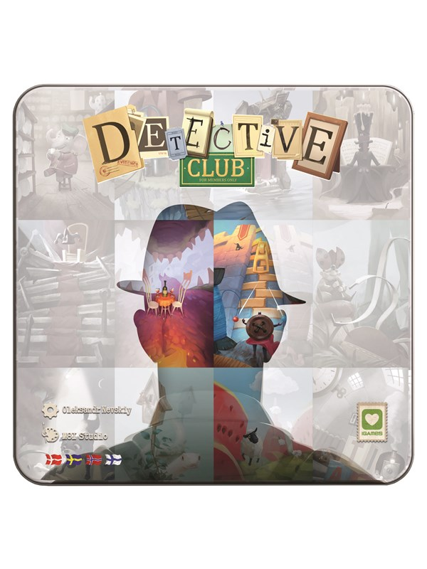 Image of   Asmodee Detective Club (Nordic)