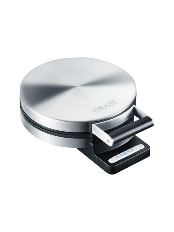 Image of   Graef Vaffeljern WA 80 - waffle maker - matt stainless steel