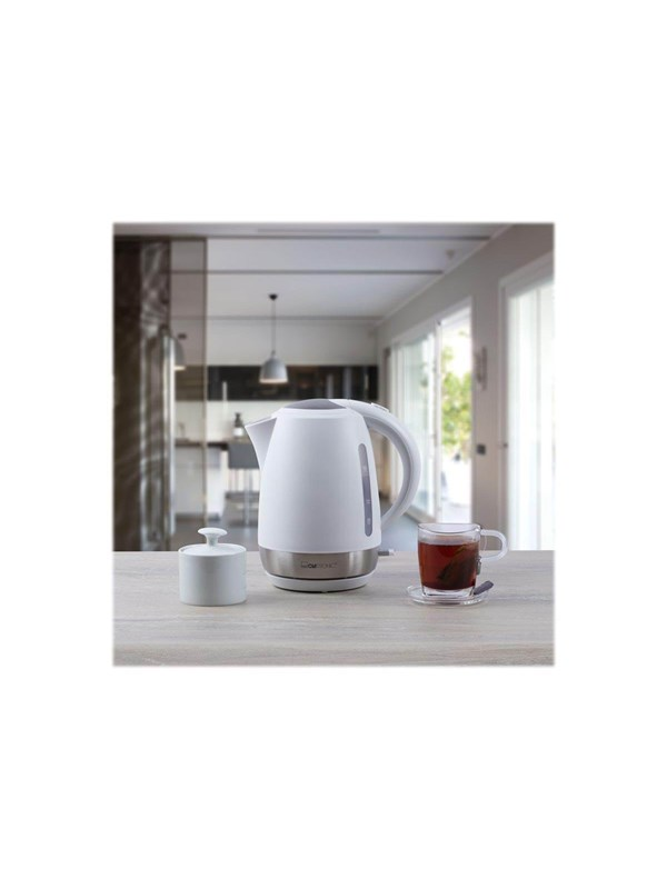 Image of   Clatronic Elkedel WK 3691 - kettle - white - Hvid - 2200 W