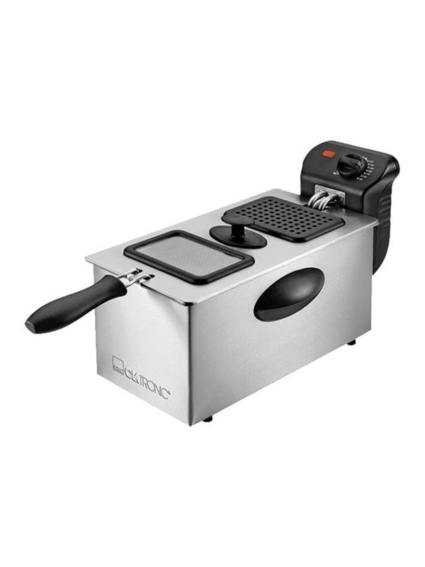 Image of   Clatronic FR 3587 - deep fryer - stainless steel