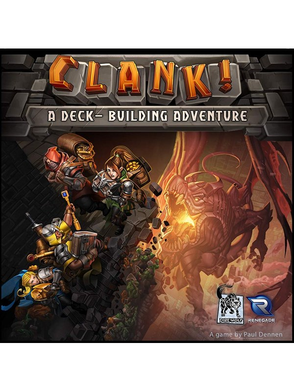 Image of   Asmodee Clank! - A deck building adventure (ENG)