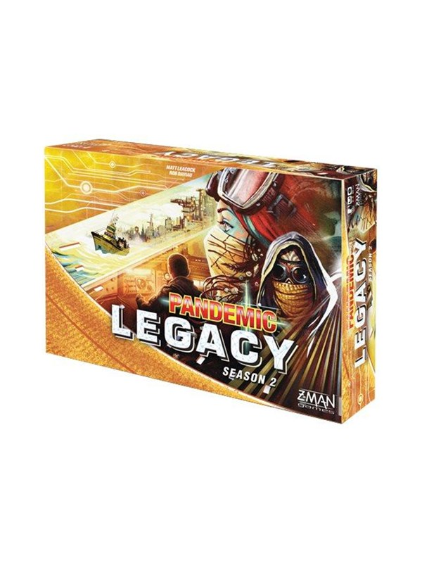 Pandemic Legacy Yellow Season 2 (ENG)