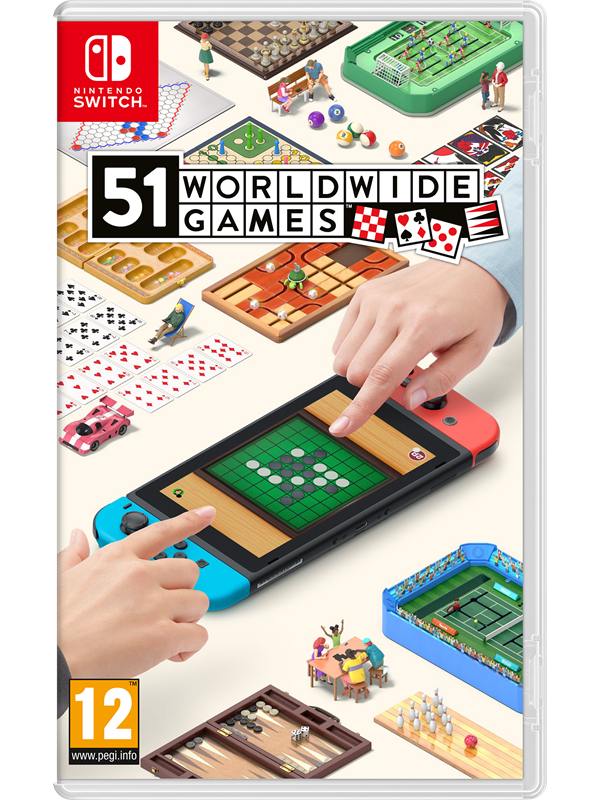 Image of   51 Worldwide Games - Nintendo Switch - Fest