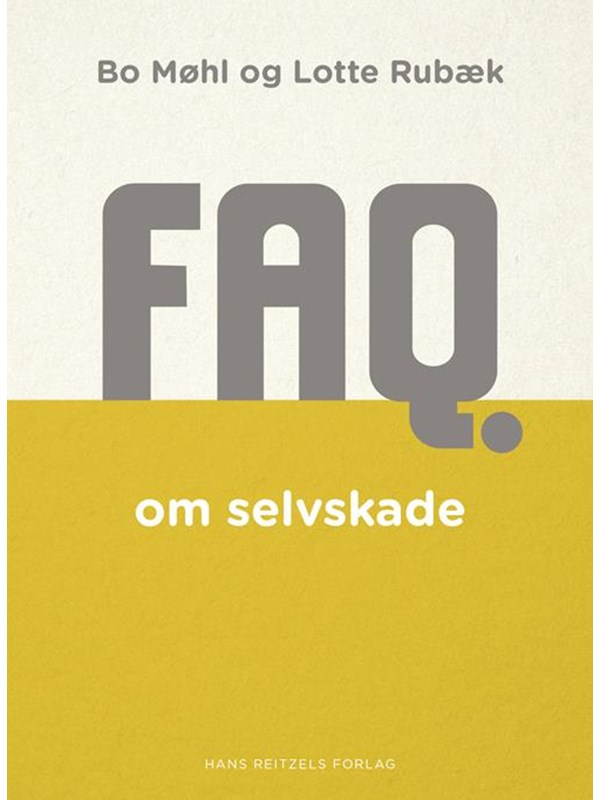 Image of   FAQ om selvskade