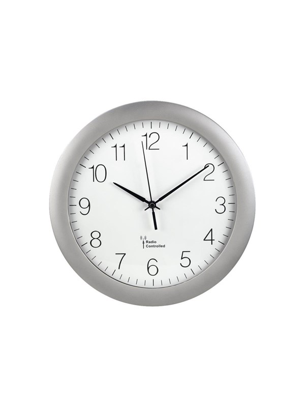 Image of   Hama PG-300 - clock - 300 mm - grey silver
