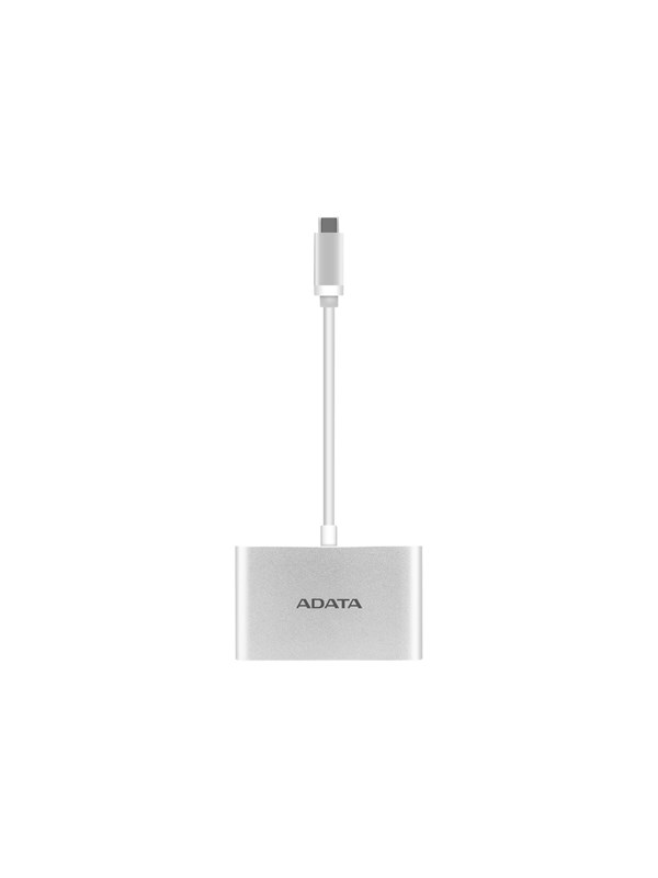 Image of   A-Data ADATA USB hub - 3 ports - Sølv