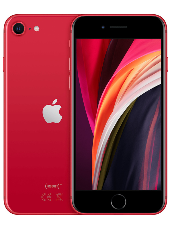 Image of   Apple iPhone SE 128GB - Red
