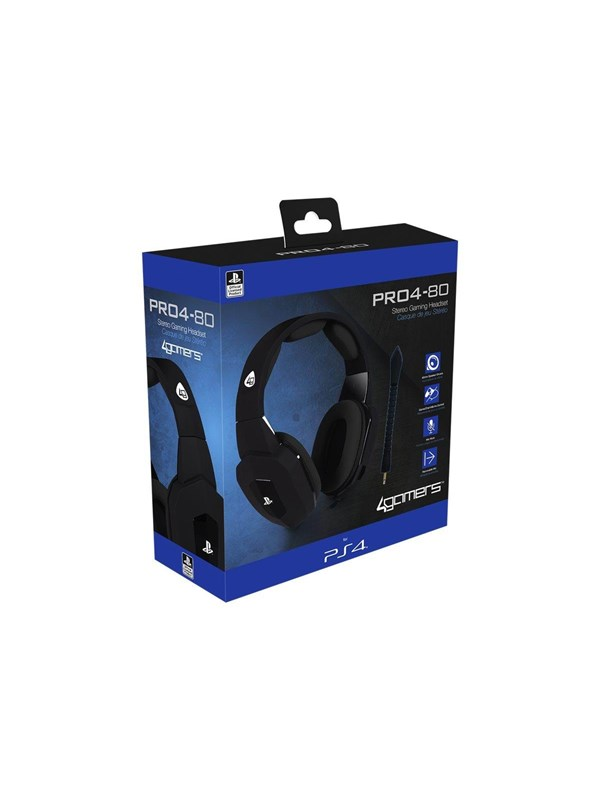 Image of   4Gamers PRO4-80 - Headset - Sony PlayStation 4