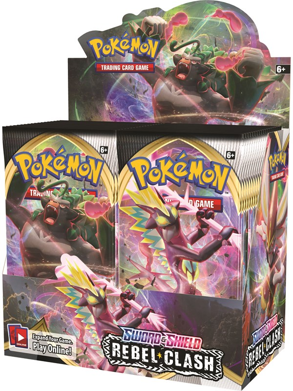 Image of   Pokemon Booster Display (36 boosters) - Sword and Shield Rebel Clash