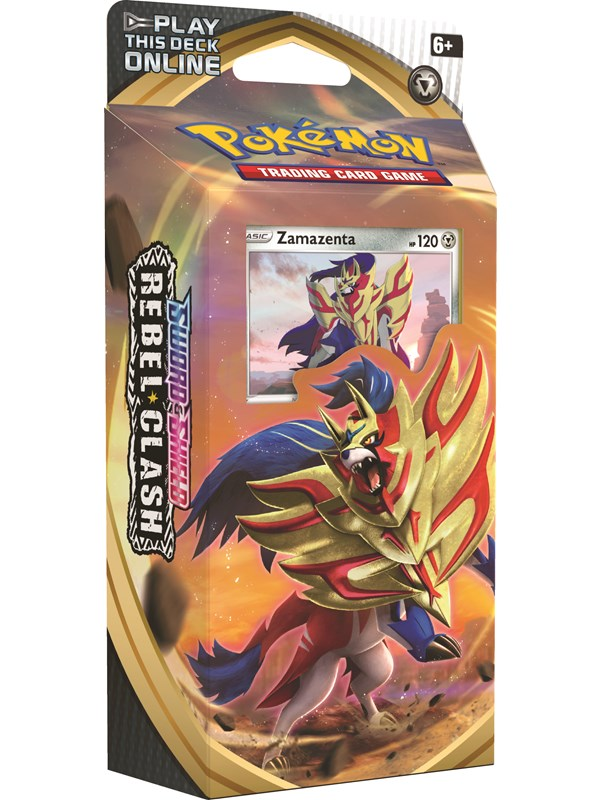 Image of   Pokemon Theme deck - Sword and Shield Rebel Clash