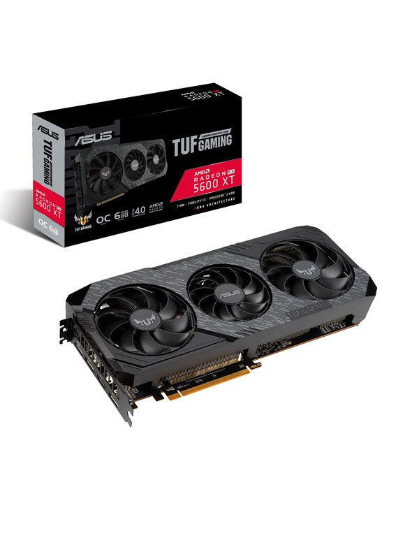 Image of   ASUS AMD Radeon RX 5600 XT TUF TOP - 6GB GDDR6 RAM - Grafikkort