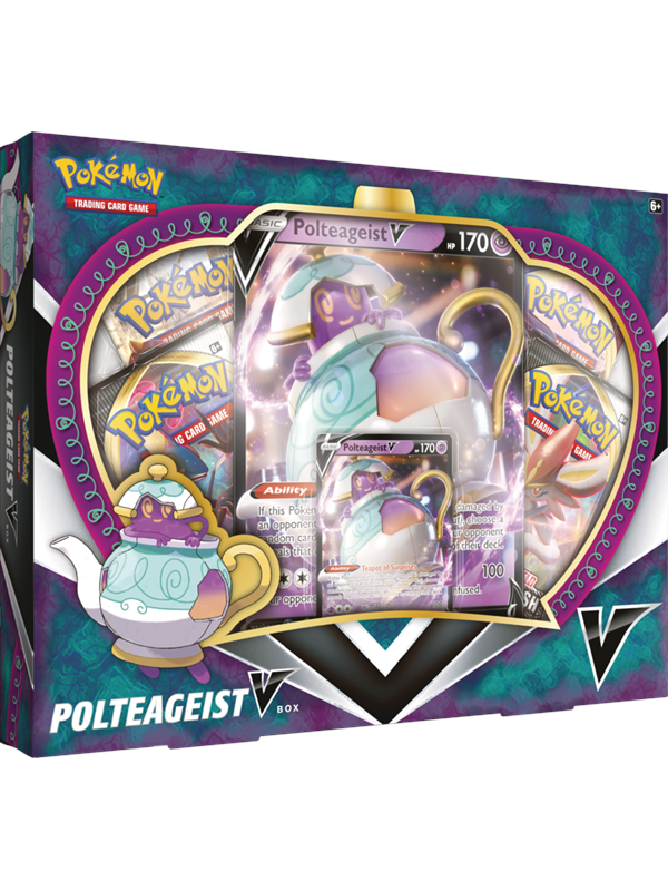 Image of   Pokemon Polteageist V Box - Sword and Shield Rebel Clash