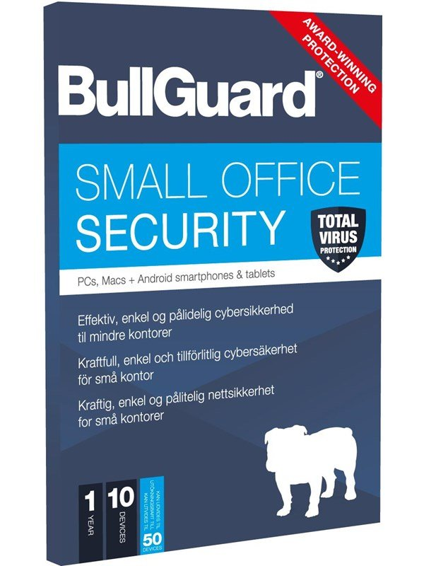 Image of   BullGuard Small Office Security 1Y (15 Devices) - Nordisk Elektronisk