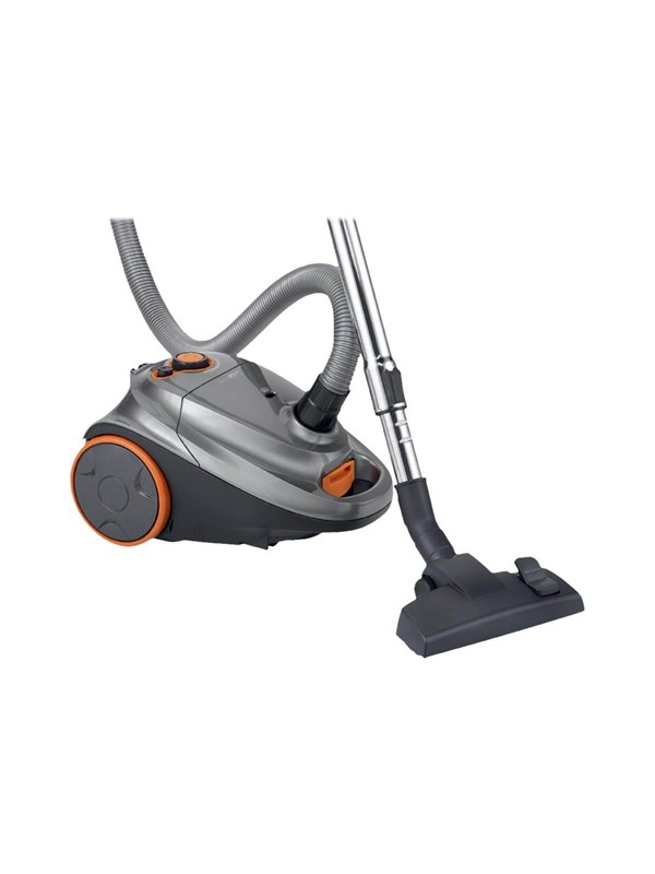 Image of   Clatronic Støvsuger BS 1295 - vacuum cleaner - canister - anthracite/orange