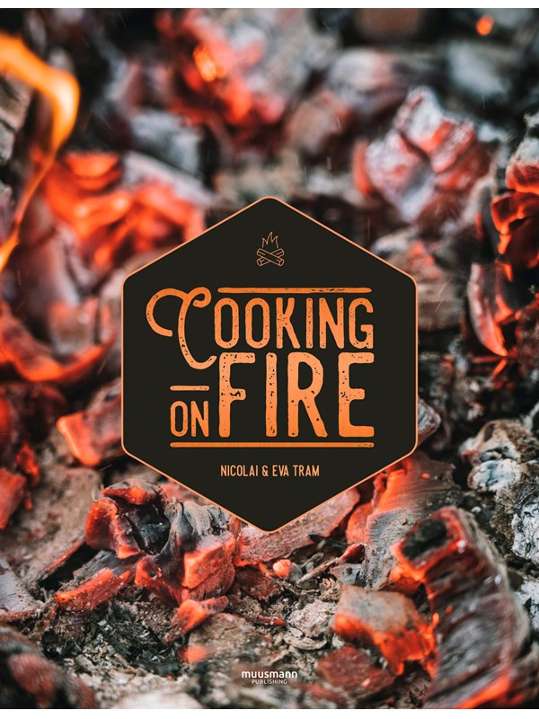 Image of   Cooking on fire