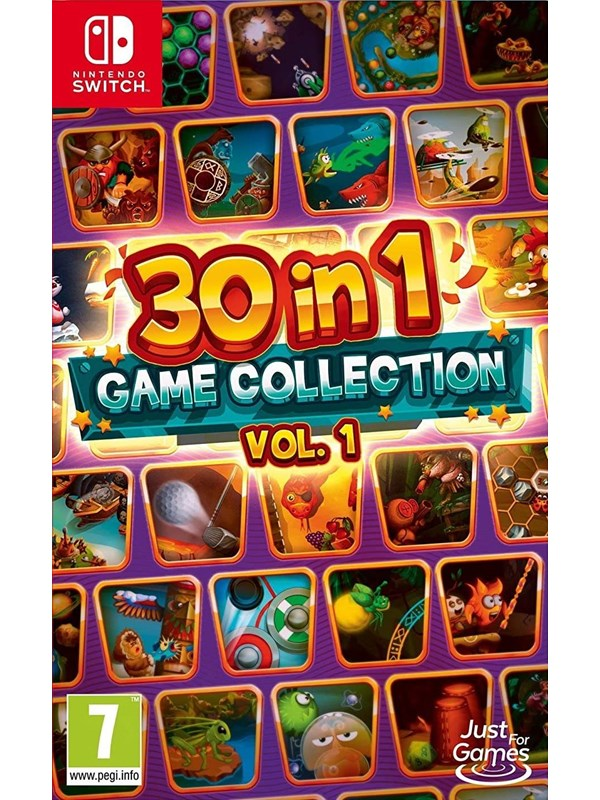 Image of   30-in-1 Game Collection: Vol. 1 - Nintendo Switch - Fest