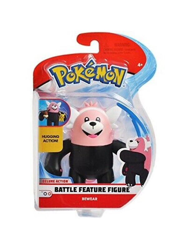 Image of   Pokemon Battlefield Bewear 4.5in Action Figure -