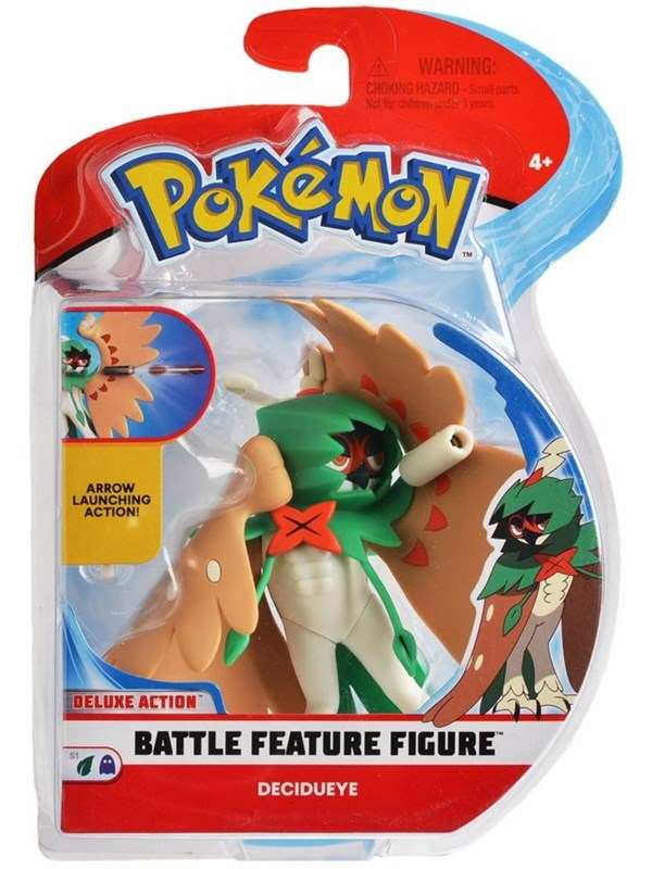 Image of   Pokemon Battlefield Decidueye 4.5in Action Figure -