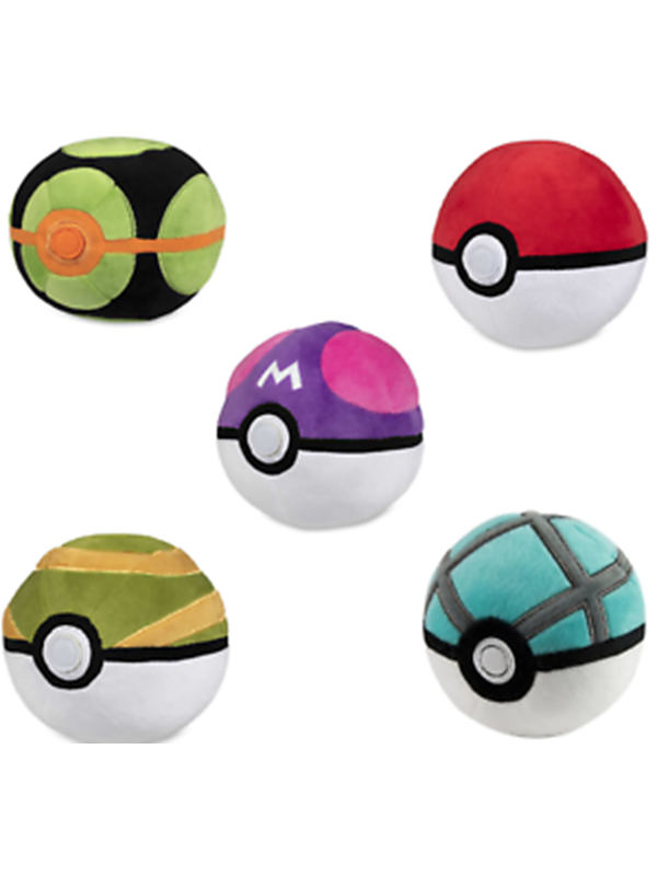 Image of   Pokemon Poke Ball Plush- Assorted -