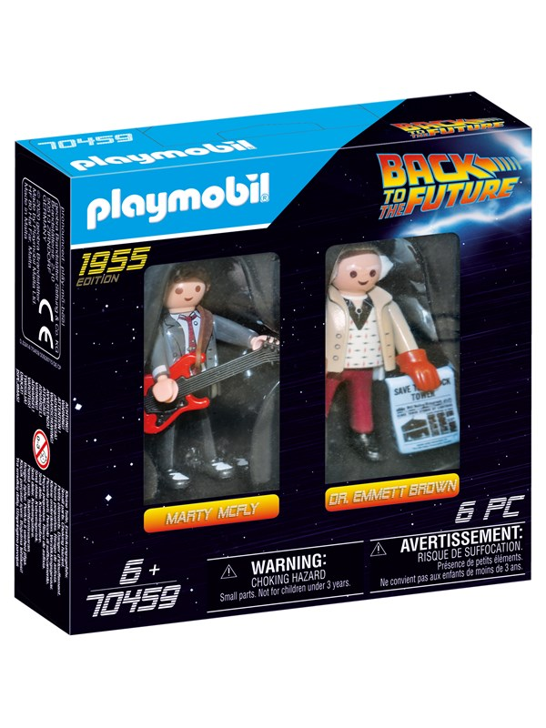 Playmobil Back to the Future - Back to the Future samlefigur Dr. Emmett Brown