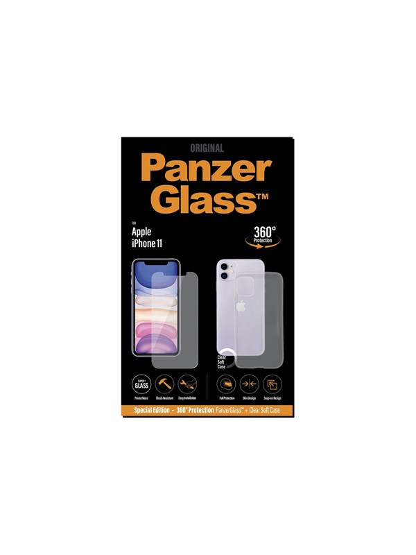 PanzerGlass Special Edition - 360 Protection - screen back protector kit for mobile phone