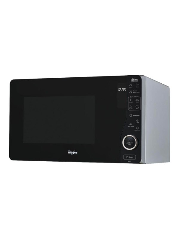Whirlpool MWF421SL - microwave oven with grill - freestanding - silver