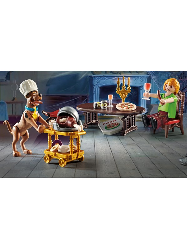 Playmobil Scooby Doo - SCOOBY-DOO Aftensmad med Shaggy