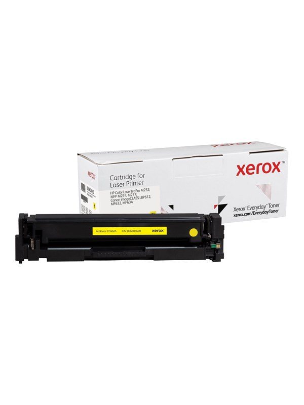 Xerox - yellow - compatible - toner cartridge (alternative for: HP CF402A Canon CRG-045Y) - Lasertoner Gul