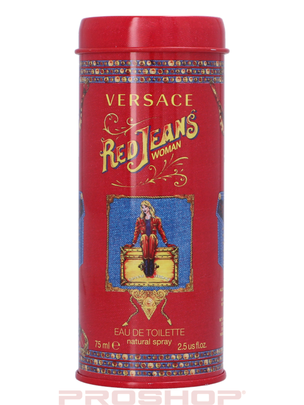 VERSACE - Red Jeans