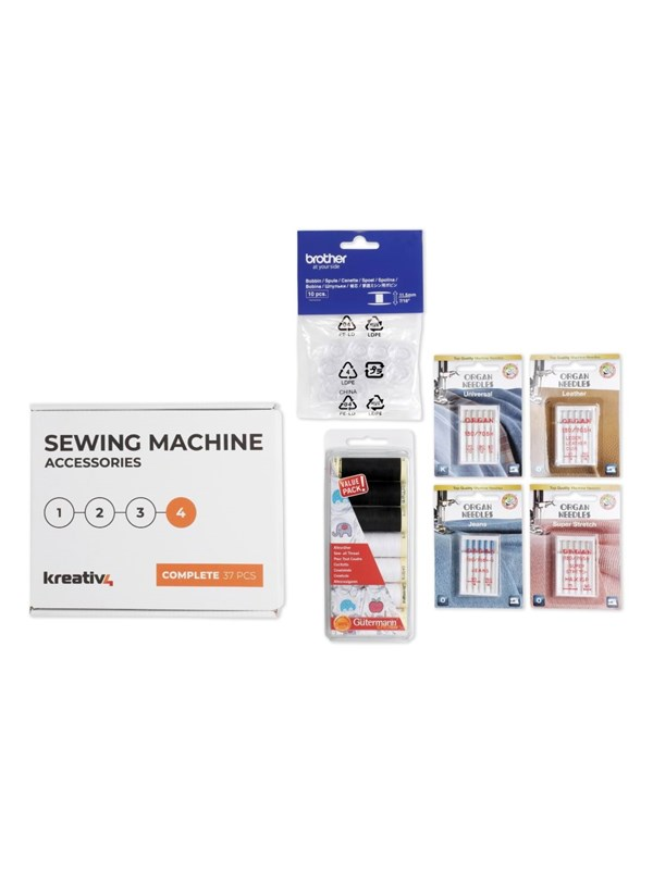 Kreativ4 Sewing Machine Accessories - COMPLETE 37 PCS