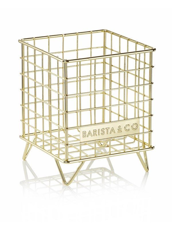 Barista & Co Wire basket - gold