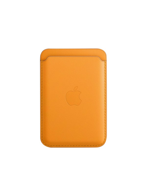 Apple iPhone Leather Wallet with MagSafe - California Poppy thumbnail