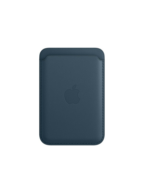 Apple iPhone Leather Wallet with MagSafe - Baltic Blue thumbnail