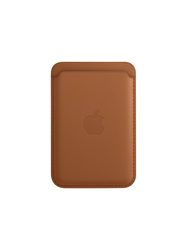 Apple iPhone Leather Wallet with MagSafe - Saddle Brown thumbnail