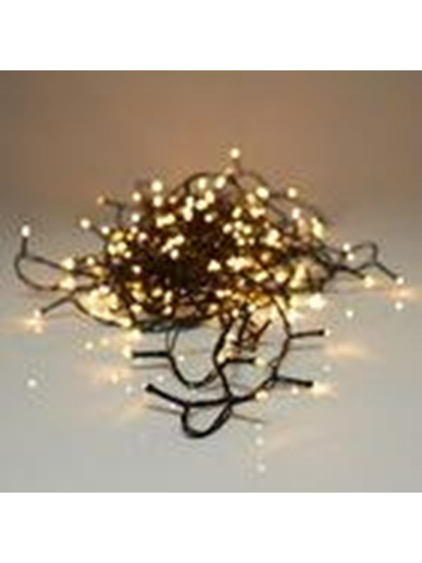 S.I.A Light String 240 LED warm white 21 meters outdoors