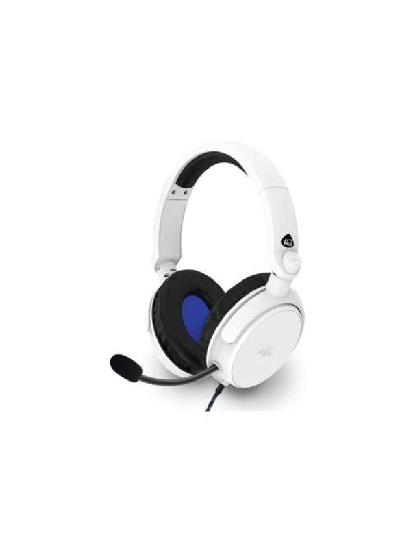 Billede af 4Gamers PRO50 PS4 Stereo Gaming Headset - White - Headset - Sony PlayStation 4