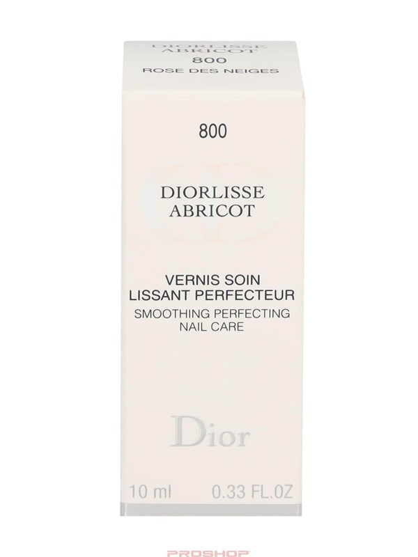 Christian Dior lisse Abricot Smoothing Perf. Nail Care - 800 Snow Pink