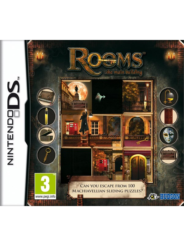 Rooms The Main Building - Nintendo DS - Eventyr