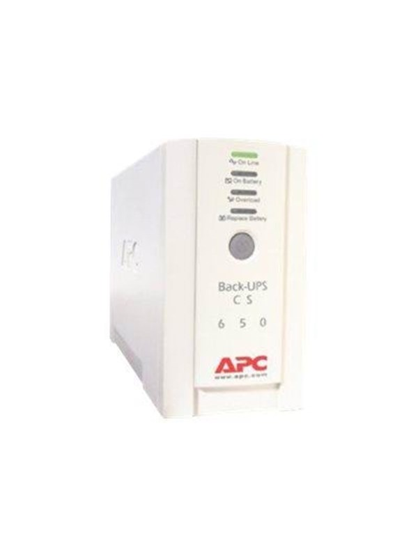 Image of   APC Back-UPS CS 650Va